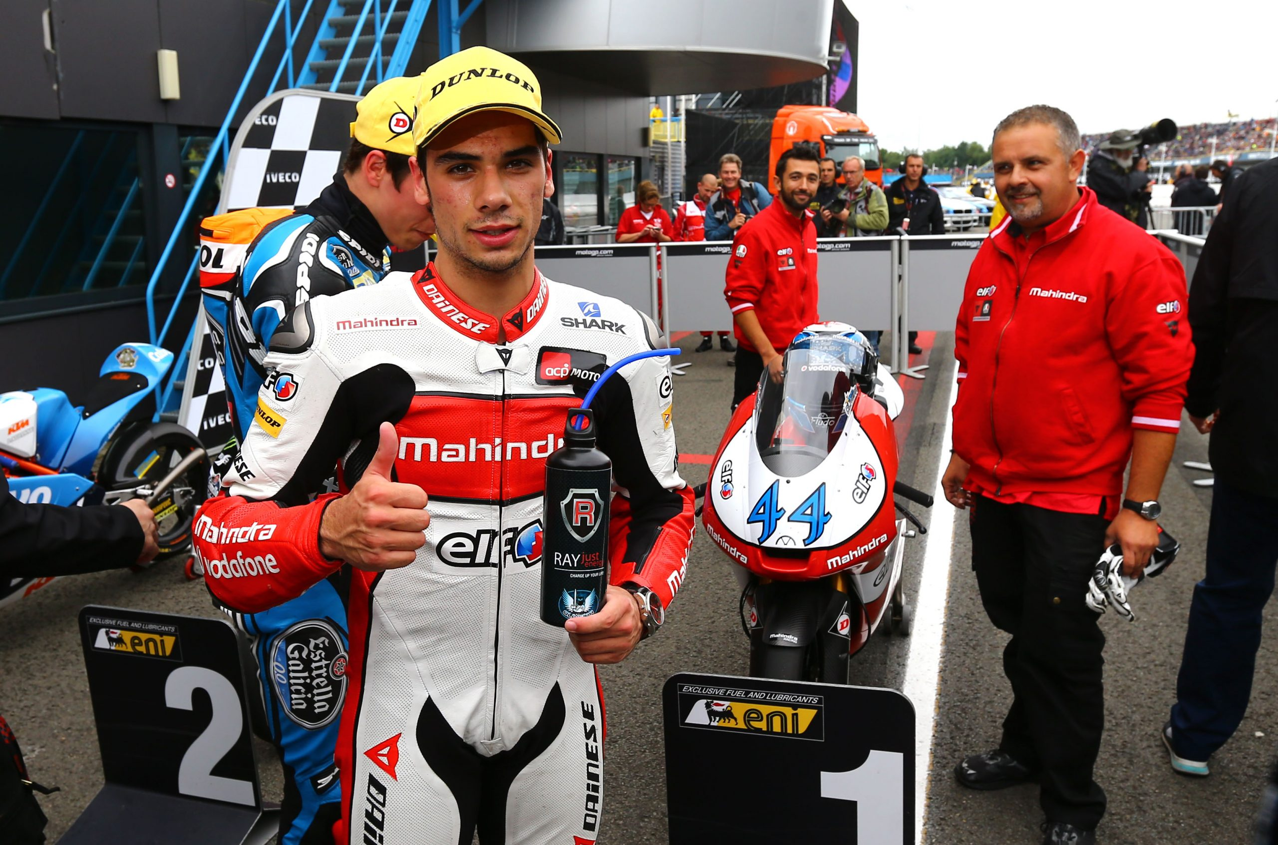 miguel oliveira takes pole in assen